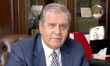 """""""Έφυγε"""" από τη ζωή ο αντιπρόεδρος της Βουλής, Αθανάσιος Νάκος"""