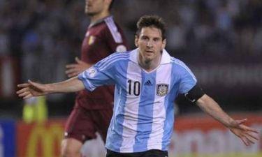 Αργεντινή: Τρεις κάμερες μόνο για τον Μέσι! (video)