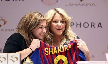 Η Shakira δυο μήνες μετά τη γέννηση του γιου της!
