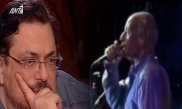Λαυρέντης Μαχαιρίτσας: «Λύγισε» όταν είδε σε βίντεο τον αείμνηστο Δημήτρη Μητροπάνο να μιλάει για εκείνον