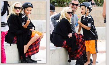 Gwen Stefani: Στην παιδική χαρά με τα παιδιά και τον άντρα της
