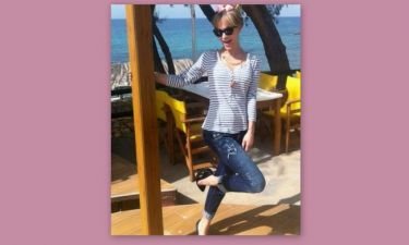 Ξέγνοιαστες στιγμές για την Νατάσα Καλογρίδη