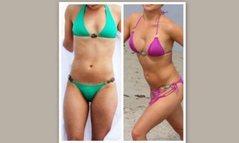 Πριν και μετά: Ποια star έκανε πλαστική στήθους και μας το επιδεικνύει περήφανη; (photos)