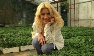 H αγρότισσα Ελένη Μενεγάκη, οι ντομάτες και το φυτώριο!