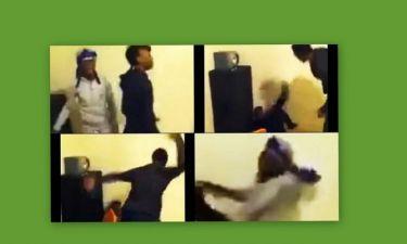 Σοκαριστικό βίντεο: Μαστίγωσε τις κόρες του με καλώδιο για μια ανάρτηση στο Facebook
