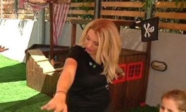 Η Κωνσταντίνα Σπυροπούλου κάνει γιόγκα!