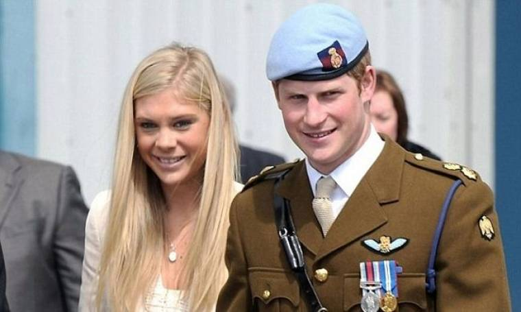 Η πρώτη κοπέλα του πρίγκιπα Harry ήταν βοηθός παντοπώλη!