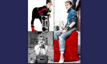 Αδημοσίευτες φωτογραφίες της Madonna απ' την εποχή που ήταν 24