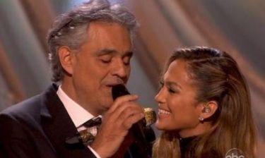 Η συγκλονιστική ερμηνεία των Jennifer Lopez-Andrea Bocelli στο Dancing!