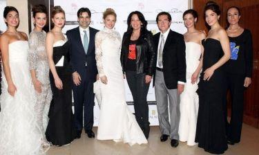 """Κατερίνα Παναγοπούλου:Oscar de la Renta και Αλέκος Φασιανός για τους σκοπούς της """"Καλλιπάτειρας"""""""