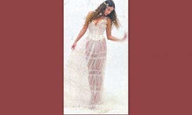 Κατερίνα Στικούδη: Πρωταγωνίστρια στην καλοκαιρινή καμπάνια των νυφικών της Celia Kritharioti!