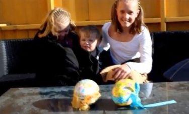 Κάθε χρόνο κάνουν φάρσα στα παιδιά τους με τα Πασχαλινά αβγά! Και φέτος...