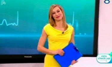 Ζέτα Δούκα: Έκανε πρεμιέρα η εκπομπή «alpha check up» που παρουσιάζει η ηθοποιός