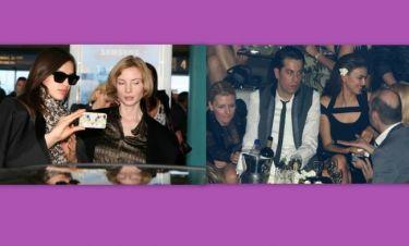 Irina Shayk: Η άφιξη, το γαρύφαλλο στο αυτί και ο Βέρτης!