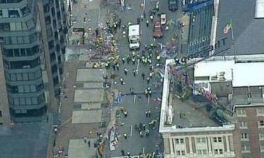 Εκρήξεις και τραυματίες στον Μαραθώνιο της Βοστόνης! (photos+videos)