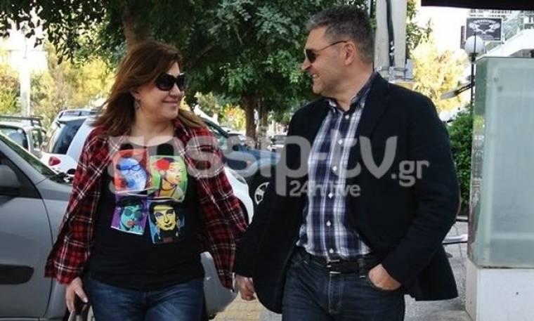 Δέσποινα Μοιραράκη: Βόλτα με τον σύζυγό της
