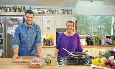 «Τι θα φάμε σήμερα μαμά;» Η Νταϊάν μαγειρεύει με τον Γιώργη Λαμπαθάκη!