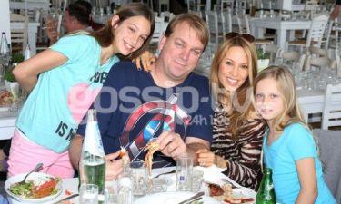 Αννίτα Ναθαναήλ - Κρις Χάμπερτ: Οικογενειακό γεύμα!
