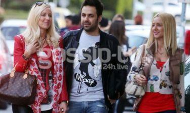Γιώργος Γιαννιάς: Με γυναίκα και κουνιάδα για ψώνια!