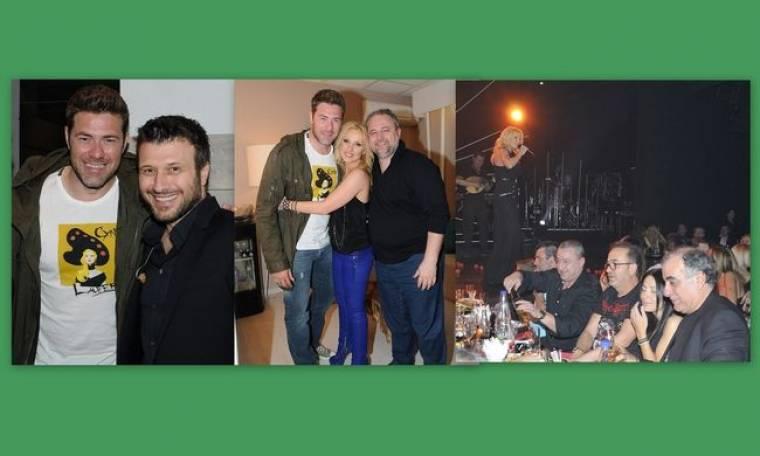 Γονίδης- Χολίδης: Διασκέδασαν σε Πλούταρχο- Ζήνα