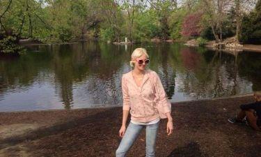 Η Τζούλια Αλεξανδράτου... στην φύση! (φωτό)
