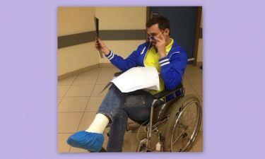 Γιώργος Καπουτζίδης: Έσπασε το πόδι του κατά τη διάρκεια παράστασης!