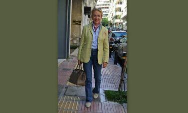 Ντέλλα Ρούνικ: Μια κομψή κυρία στο Κολωνάκι!