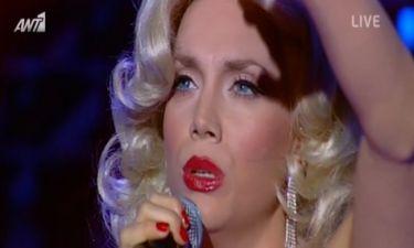 Η Κρυσταλλία μεταμορφώθηκε σε Christina Aguilera