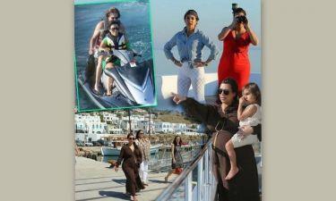 Άλμπουμ διακοπών: H Kim Kardashian στα ελληνικά νησιά (Φωτογραφίες)