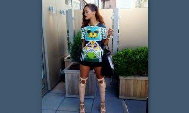 H Rihanna επιλέγει Mary Katrantzou