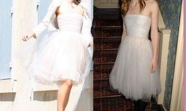Φόρεσε στον γάμο της το φόρεμα που είχε φορέσει σε… βραβεία