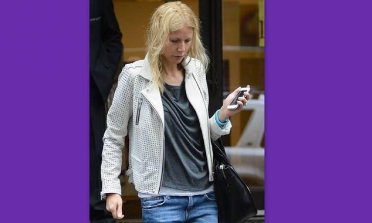 Τα μαύρα της τα χάλια! Άβαφη και αχτένιστη η… Gwyneth Paltrow