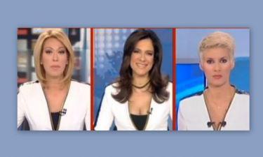 Τρεις παρουσιάστριες… ένα σακάκι!