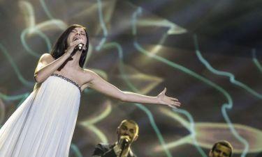 Eurovision 2013: Εσθονία: Catwalk στη σκηνή του Μάλμο από την όμορφη Birgit Õigemeel
