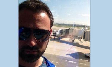 Ο Γιώργος Καπουτζίδης 'πέταξε' για Σουηδία!