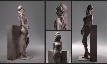 Amy Winehouse: Άγαλμα κοντά στο σπίτι της