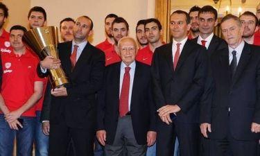Ολυμπιακός: Τιμήθηκε από τον Πρόεδρο της Δημοκρατίας (photos)