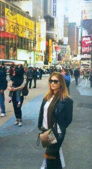 Στέλλα Καλλή: Το ταξίδι της στην Νέα Υόρκη