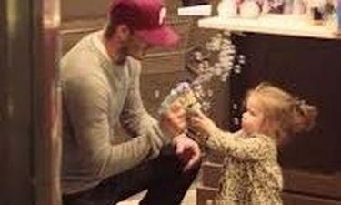 David Beckham: Πάντα και παντού με την κόρη του