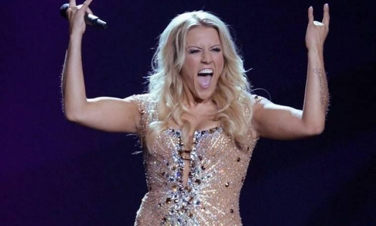 Eurovision 2013: Τα «πέταξε» όλα η Γερμανίδα εκπρόσωπος!
