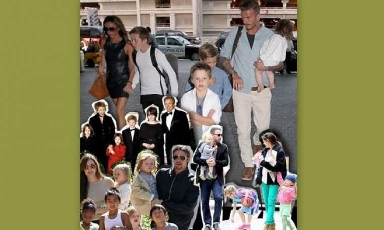 Αυτές είναι οι, πραγματικά, πιο αγαπημένες οικογένειες του Hollywood!