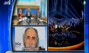 Eurovision 2013: Η πρώτη δήλωση του Αγάθωνα μετά το «εισιτήριο» για τον τελικό: «Μας έφυγε η πίστη ανάποδα, ώσπου να βγούμε δέκατοι»