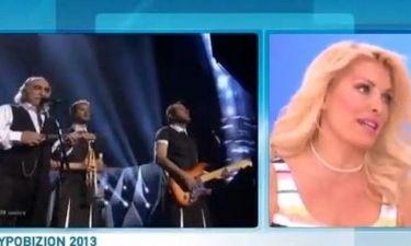Eurovision 2013: Ελένη Μενεγάκη: «Μας άφησαν στο τέλος και μας κοψοχόλιασαν»