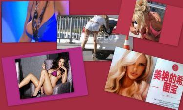 To σέξι ατύχημα της Laura Miller, η Ελληνίδα στη λίστα των πιο sexy γυναικών του πλανήτη και το φούξια μπικίνι της  Victoria Silvstedt