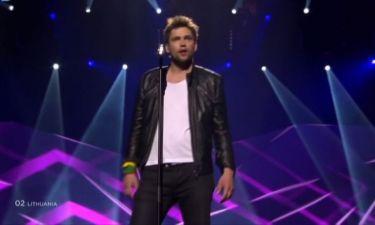 Eurovision 2013: Λιθουανία: Μήνυμα αγάπης από τον Andrius Pojavis