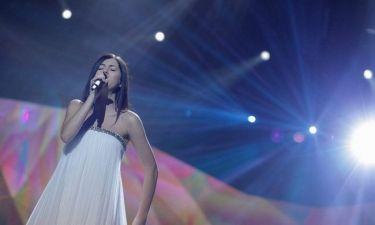 Eurovision 2013: Εσθονία: Η εγκυμονούσα Birgit Õigemeel ντυμένη total white