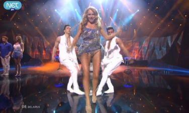 Eurovision 2013: Λευκορωσία: Η Alyona «ανέβασε» την θερμοκρασία με την σέξι εμφάνισή της
