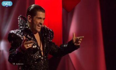 Eurovision 2013: Ρουμανία: Ο τενόρος με την εντυπωσιακή κάπα και τις απίστευτες κορώνες