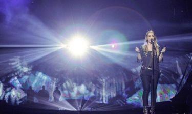 Eurovision 2013: Ολλανδία: Η Anouk μαζί με τα πουλιά στην σκηνή του Μάλμε