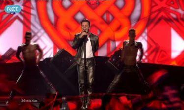 Eurovision 2013: Ιρλανδία: Ο Ryan Dolan αν και τελευταίος εντυπωσίασε!